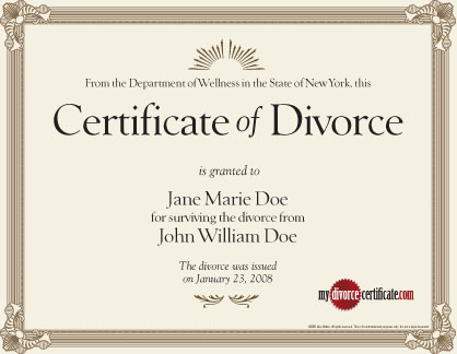Doc12751650 Free Fake Divorce Papers Best Photos of Printable – Fake Divorce Certificate